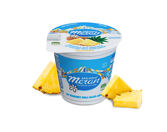 Yogurt classico all'ananas